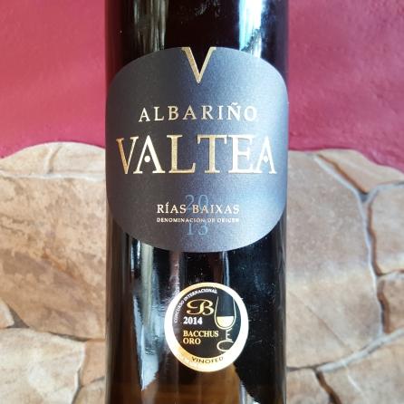 etiqueta albariño VALTEA