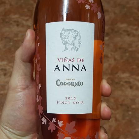 etiqueta Pinot Noir VIÑAS DE ANNA